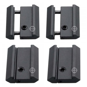 """10PHON 3/8"""" Dovetail to 7/8"""" Weaver Rail Mount Adapter"""
