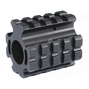 "10PHON              Low Profile 0.75"" Gas Block Quad Rail Mount"